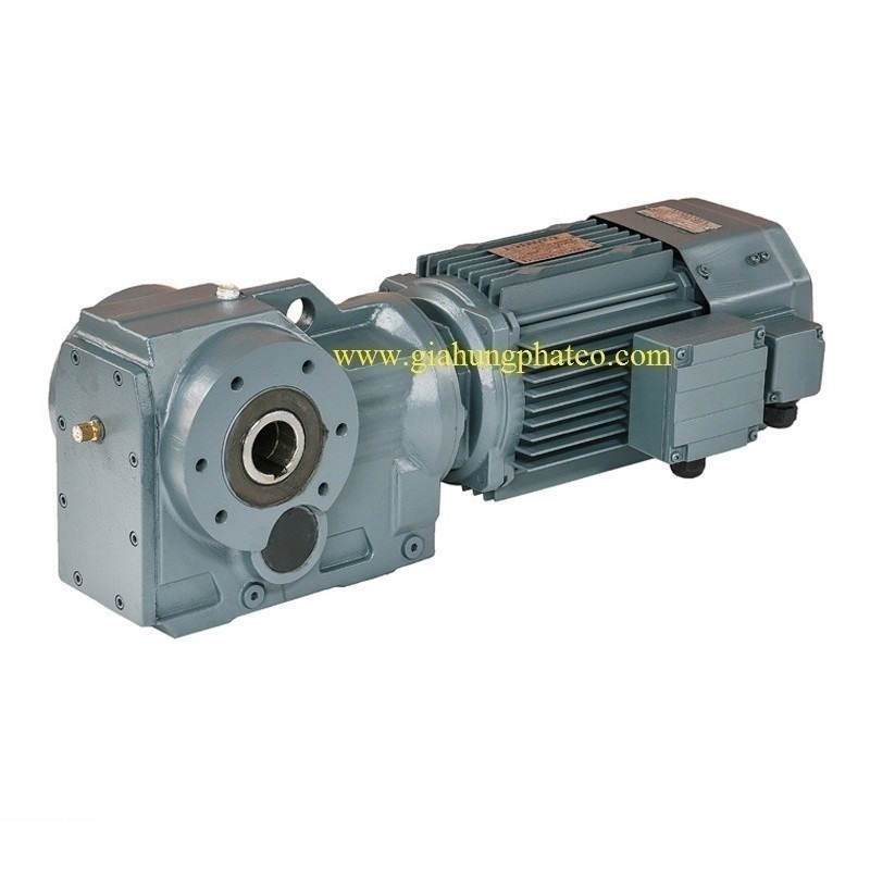 KAF series helical gear reducer