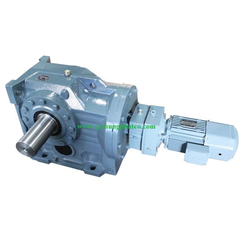 Helical reducer have brakes