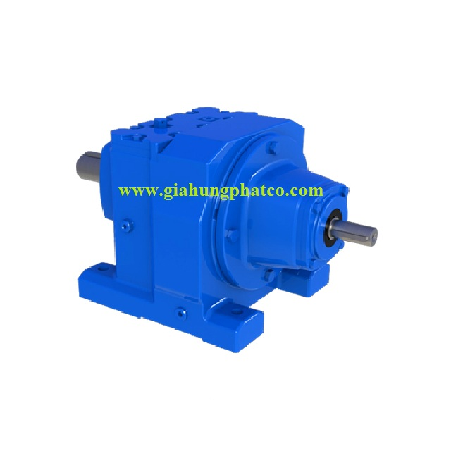 Helical reducer gear