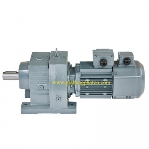 R Series: Inverter motor helical reducer